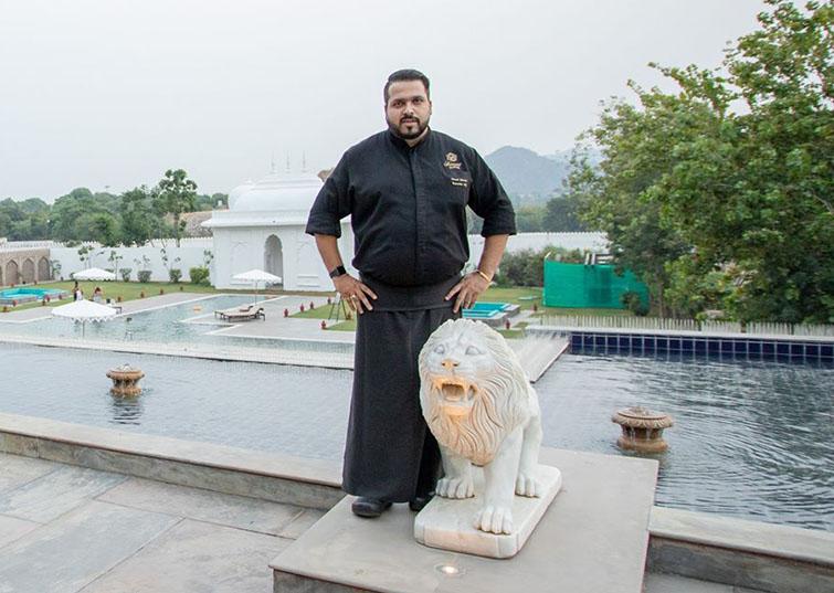 Chef Prasad Metrani, Fairmont Jaipur