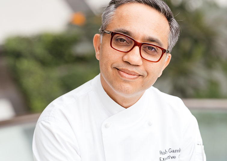 Chef Rohit Gambhir, The Oberoi, New Delhi