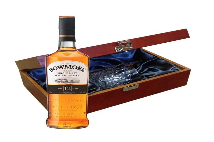 The Art of Time – Bowmore 12 YO Single Malt Scotch Whisky